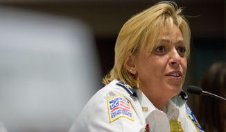 D.C. police Chief Cathy L. Lanier (The Washington Times) **FILE**