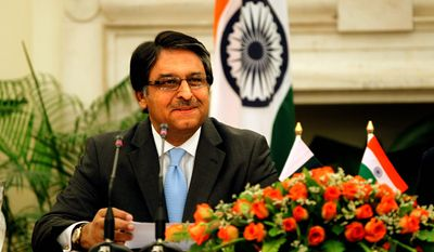 Pakistani Ambassador Jalil Abbas Jilani says his country's relationship with the U.S. is on a positive trajectory and is stronger than it has been than at any other point since the Osama bin Laden raid in May 2011. (Associated Press)