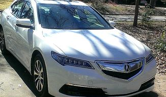The 2015 Acura TLX is all new this year and it replaces two of the past Acura options that were both well-liked in the sedan category. (Photo by Rita Cook)
