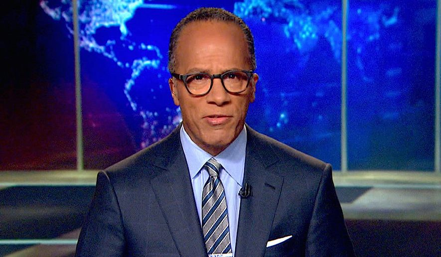 "Veteran NBC newsman Lester Holt is currently filling in for ""Nightly News"" anchorman Brian Williams, who has taken leave while questions about his credibility are sorted out by the network. (NBC News)"