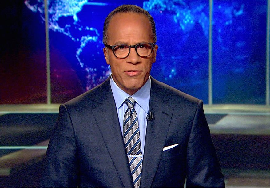 """Veteran NBC newsman Lester Holt is currently filling in for """"Nightly News"""" anchorman Brian Williams, who has taken leave while questions about his credibility are sorted out by the network. (NBC News)"""