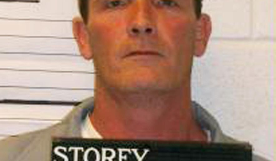 In this Jan. 1, 2012 photo provided by the Missouri Department of Corrections is Walter Storey of St. Charles, Mo., who faces the death penalty or killing Jill Frey in 1990. (AP Photo/Missouri Department of Corrections)