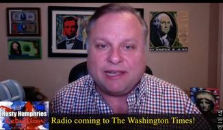 Rusty Humphries Radio Rebellion Screen Shot From Tuesday, February 10, 2015