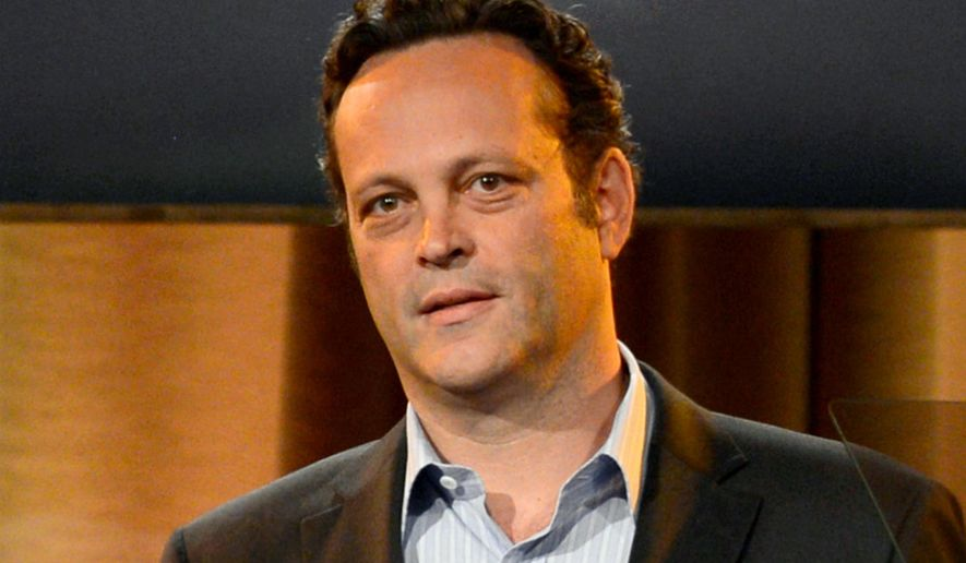 """This Aug. 13, 2013, file photo shows Vince Vaughn at the Hollywood Foreign Press Association Luncheon in Beverly Hills, Calif. Vaughn, who starred in the movies """"Wedding Crashers,"""" """"Old School"""" and """"Swingers,"""" will serve as grand marshal for the upcoming Daytona 500.  (Photo by Chris Pizzello/Invision/AP, File)"""