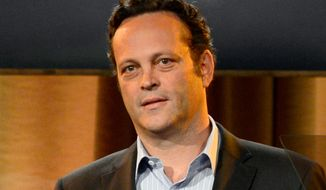 "This Aug. 13, 2013, file photo shows Vince Vaughn at the Hollywood Foreign Press Association Luncheon in Beverly Hills, Calif. Vaughn, who starred in the movies ""Wedding Crashers,"" ""Old School"" and ""Swingers,"" will serve as grand marshal for the upcoming Daytona 500.  (Photo by Chris Pizzello/Invision/AP, File)"