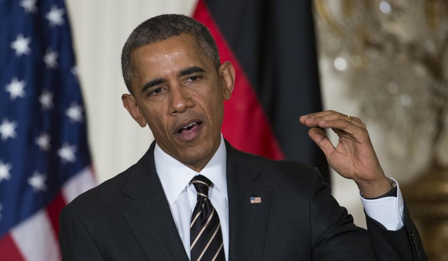 President Obama said the U.S. and its allies have made significant progress in halting the advance of the Islamic State, also known as ISIS or ISIL, through Iraq and Syria. Now, he wants the blessing of Congress to finish the job. (Associated Press)