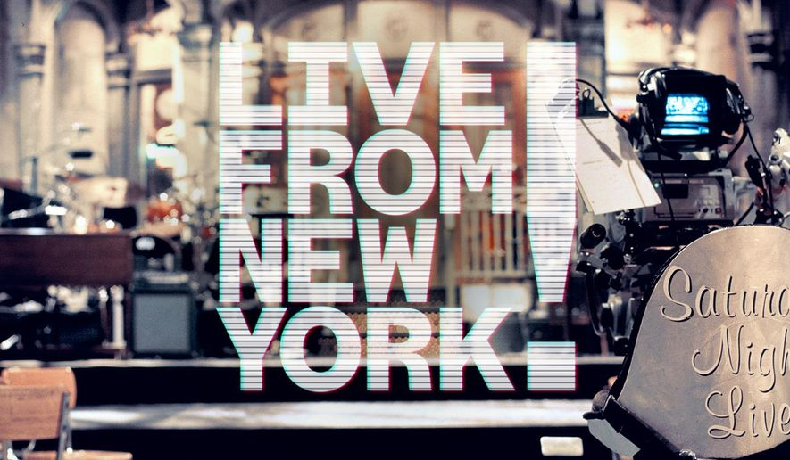 "This image released by Tribeca Film Festival shows a still from the documentary ""Live From New York!,"" which will open  the 2015 Tribeca Film Festival on Wednesday, April 15. The documentary which explores 40 years of American politics, tragedy and popular culture through the comedic lens of SNL is directed by Bao Nguyen. (AP Photo/Tribeca Film Festival)"