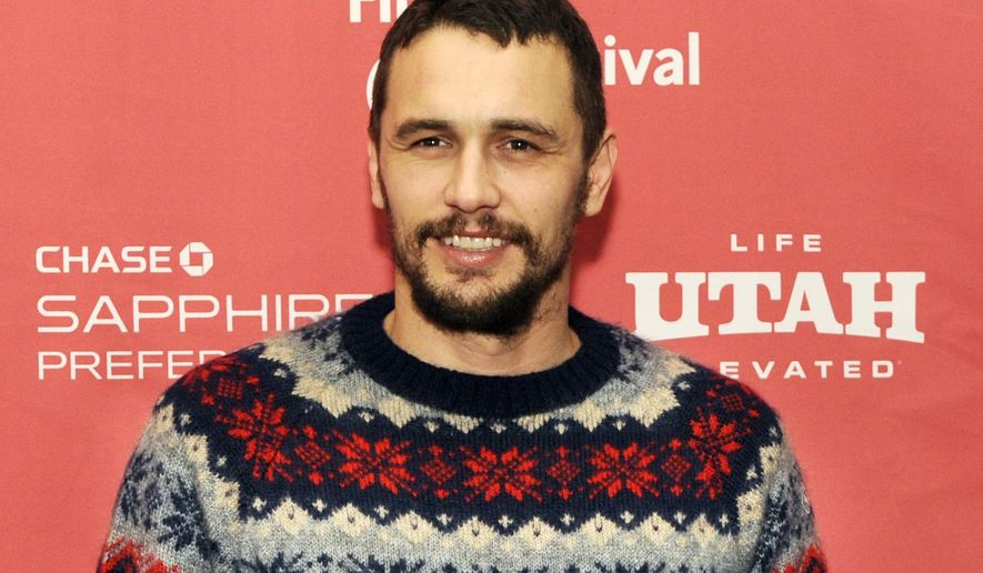"FILE - In this Jan. 29, 2015 file photo, James Franco, a cast member in ""I Am Michael,"" poses at the premiere of the film during the 2015 Sundance Film Festival in Park City, Utah. Franco is been set to star in the upcoming Hulu Original series ""11/22/63,"" based on the best-selling 2011 novel written by Stephen King. Franco, who is also a producer, will play the lead role of Epping in the nine-hour event series.  (Photo by Chris Pizzello/Invision/AP, File)"