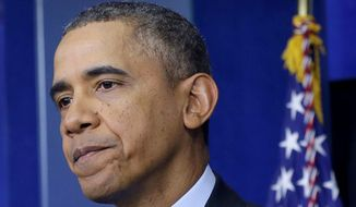 The Obama administration predicted this year that as many as 6 million Americans will pay a penalty on their 2014 taxes. (Associated Press)
