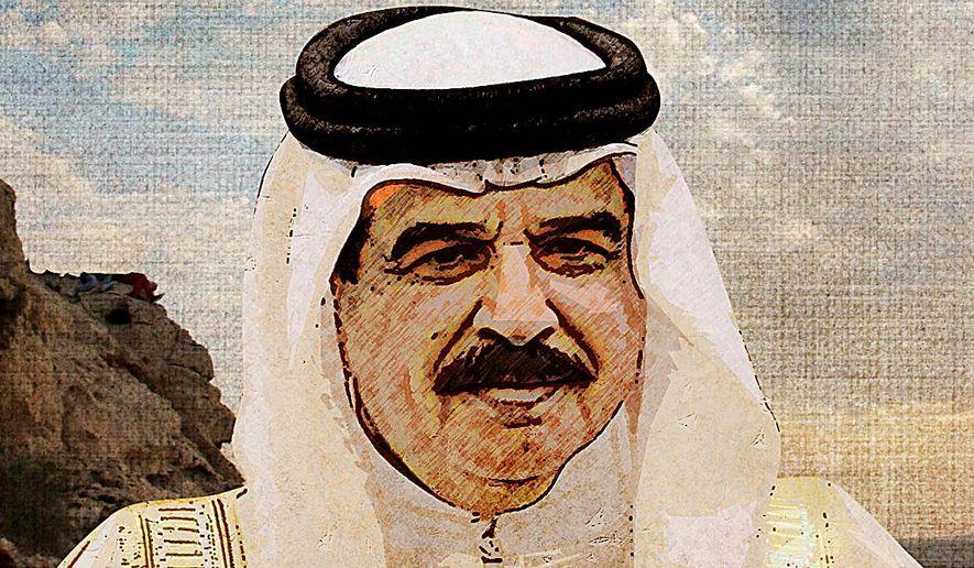 King Hamad Al-Khalifa Illustration by Greg Groesch/The Washington Times