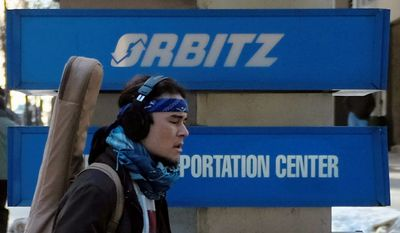 Expedia is buying Orbitz for approximately $1.33 billion, adding to the stable of brands it has snapped up recently in order to extend its reach and keep pace in the fiercely competitive travel-booking industry. (Associated Press)