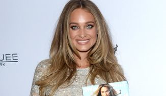 Hannah Davis attends Sports Illustrated's Swimsuit Issue 2015 Celebration at Marquee on Tuesday, Feb. 10, 2015, In New York. (Photo by Evan Agostini/Invision/AP)