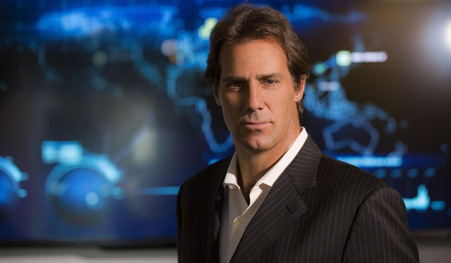 In this photo provided by FireEye, CEO David DeWalt poses for a photo at the company's headquarters, in Milpitas, Calif. The fast-growing Silicon Valley cybersecurity firm was called in when big corporations like Sony Pictures, JPMorgan Chase, Target or Anthem suffered malicious hacks and data breaches that threatened their operations and reputations. (AP Photo/FireEye, Achille Bigliardi)