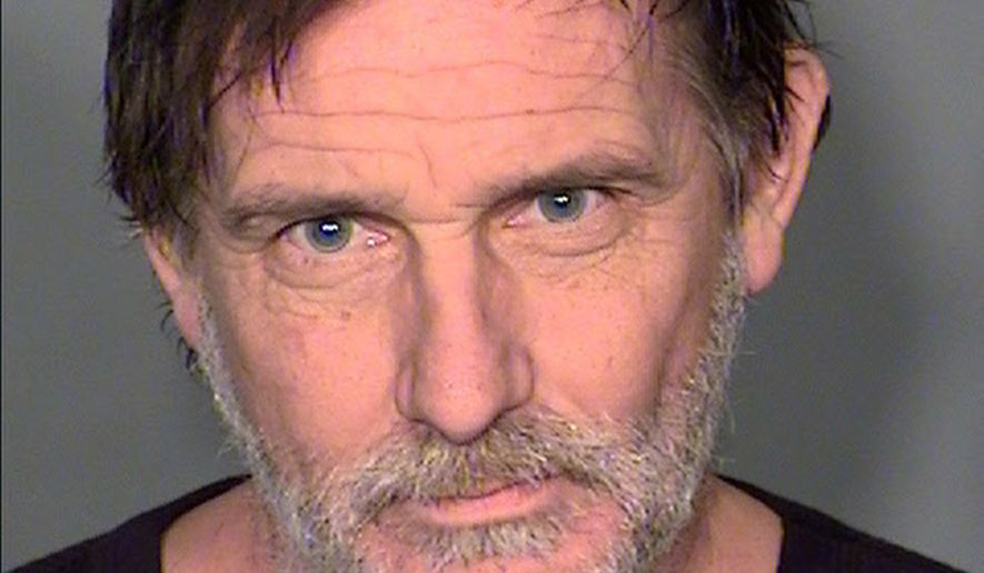 This Tuesday, Feb. 10. 2015 booking photo provided by the Clark County Detention Center, shows Thomas Supranovich, 52, who faces a murder charge in the suffocation death of his 88-year-old father, Demetry Supranovich last August at his home in Laughlin, Nev. Supranovich is expected to appear in Justice Court Thursday, Feb. 12, 2015, after being returned in custody this week from Michigan to Nevada. (AP Photo/Clark County Detention Center)