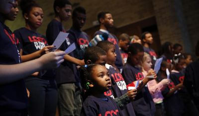 """Fifty years after late Sen. Daniel Patrick Moynihan 1965 report, """"The Negro Family: The Case for National Action,"""" a new study has found that by age 17, only 17 percent of black teens live with their own married parents.  (AP Photo/Jeff Roberson)"""