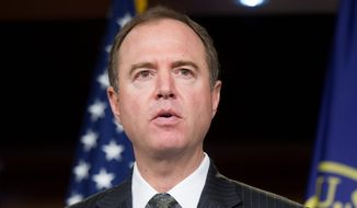 Rep. Adam B. Schiff of California, the ranking Democrat on the House Permanent Select Committee on Intelligence, continues to defend the Russia dossier and and its author, Christopher Steele. (Associated Press/File)