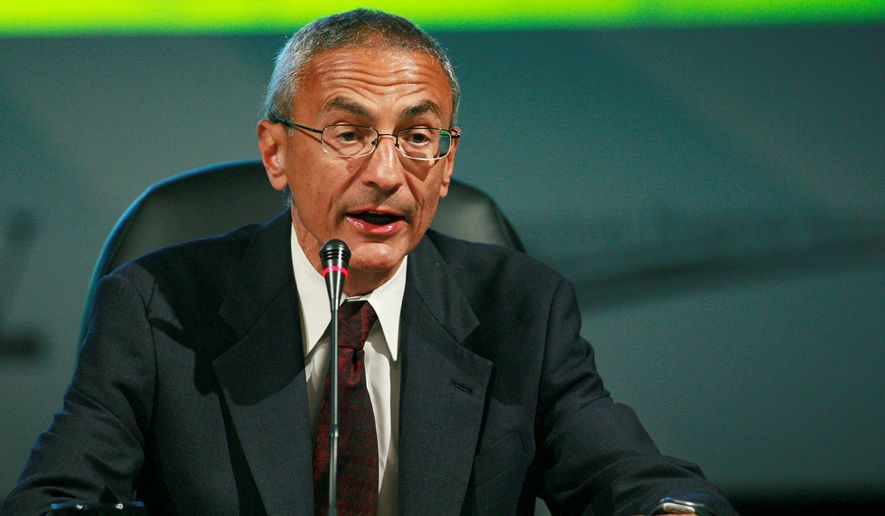 "Outgoing White House adviser John Podesta tweeted 10 regrets about leaving his position, including ""Finally my biggest failure of 2014: Once again not securing the #disclosure of the UFO files."" (Associated Press)"
