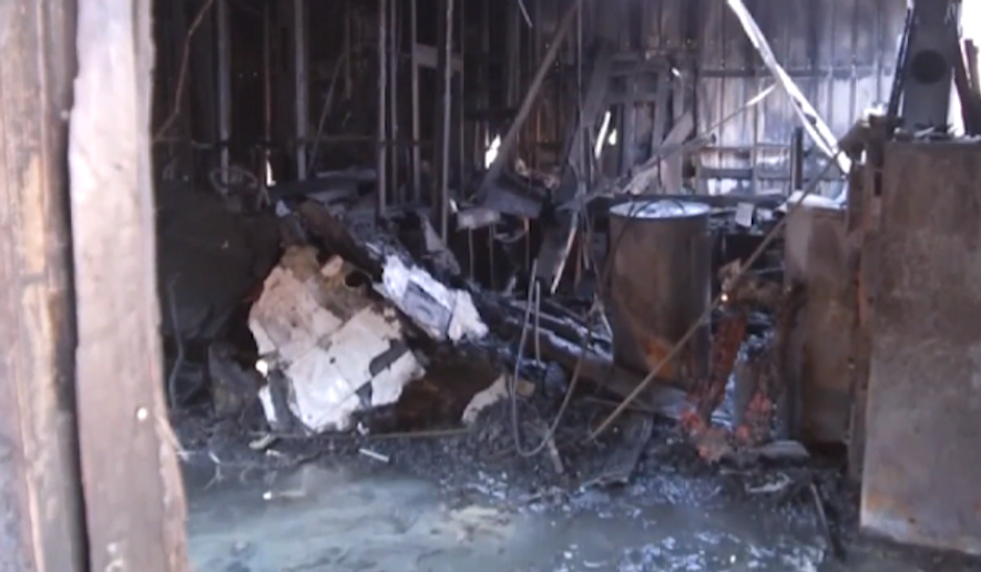 Houston fire officials now say an accelerant was used in a fire that broke out at the Quba Islamic Institute early Friday, prompting the Council on American-Islamic Relations for call on state and federal authorities to investigate a possible hate crime. (KTRK)