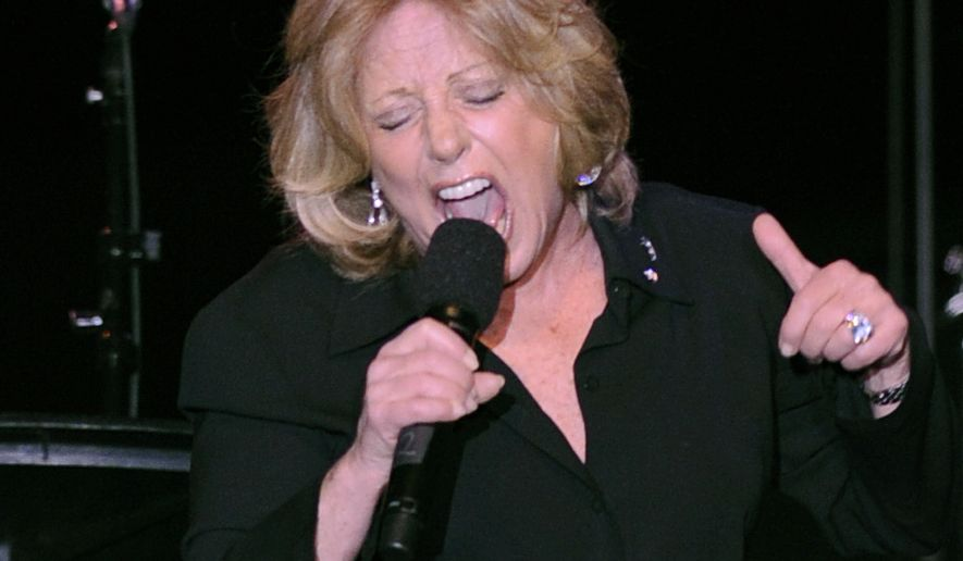 "FILE - In this Tuesday, April 22, 2008, file photo, Lesley Gore performs at the ASCAP musical tribute which honored Quincy Jones with the ASCAP Pied Piper Award, in New York. Singer-songwriter Gore, who topped the charts in 1963 with her epic song of teenage angst, ""It's My Party,"" and followed it up with the hits ""Judy's Turn to Cry,"" and ""You Don't Own Me,"" died of cancer, Monday, Feb. 16, 2015. She was 68. (AP Photo/ Louis Lanzano, File)"