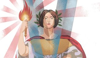 Victory at all Costs Illustration by Linas Garsys/The Washington Times