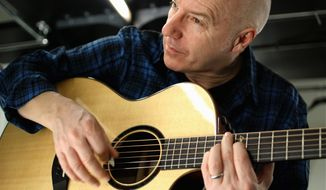"Midge Ure says the ""great imaginations"" of his audience help ""fill in the holes"" of some of his songs based on synthesizer. (By Andy Siddens)"