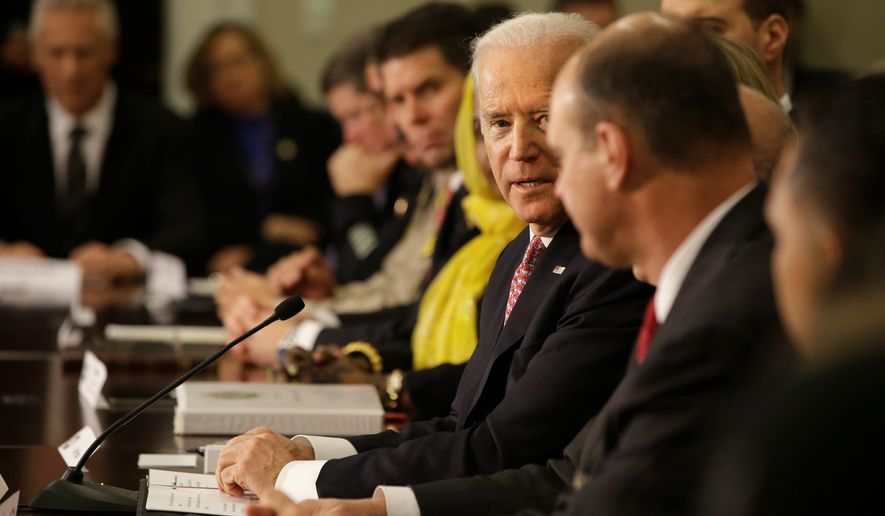 "Melding in: Vice President Joseph R. Biden opened the White House Summit on Countering Violent Extremism by saying, ""We are a nation of immigrants, and our strength is that we are a melting pot."" (Associated Press)"