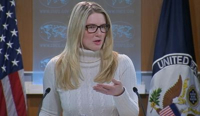 State Department spokeswoman Marie Harf. (Image: Youtube, C-SPAN)