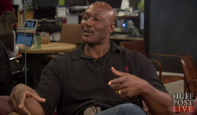 "Former NBA star Karl Malone says he's ""sick and tired"" of black communities ""waiting on someone to come march on our behalf,"" and argued that blacks need to stop using race as an excuse for not taking responsibility for their own lives. (Huff Post Live)"