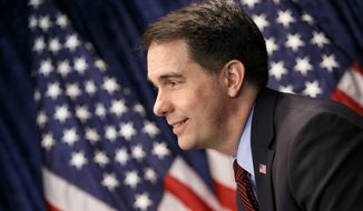 Wisconsin Gov. Scott Walker will be among a crowd of potential Republican presidential candidates to speak at the Conservative Political Action Conference. (Associated Press)