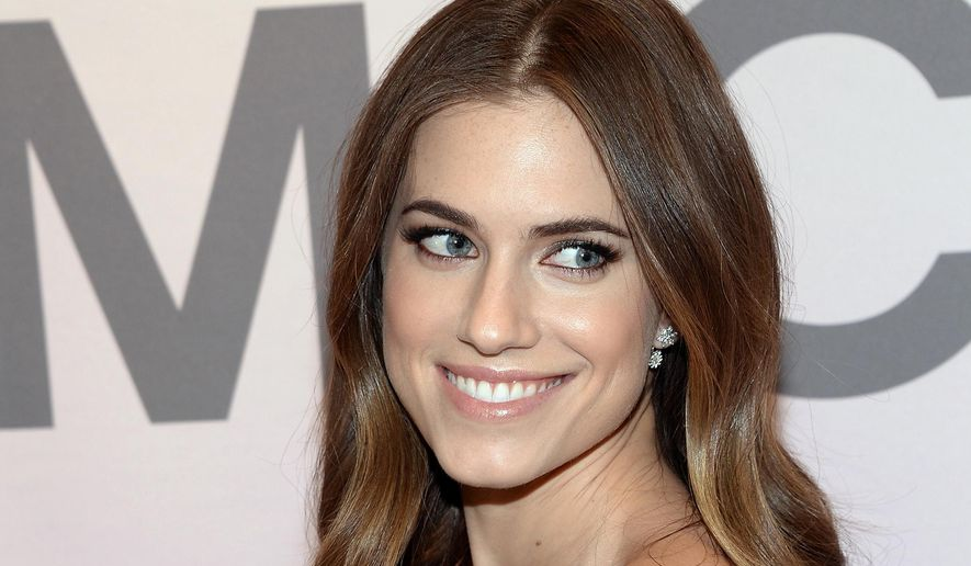 In this Feb. 18, 2015 file photo, Allison Williams attends the Miranda Eyewear Collection launch event, hosted by Michael Kors in New York. During an appearance on Seth Meyers Wednesday night, Williams defended her father, suspended NBC anchor Brian Williams, as a good man who cares deeply about integrity in journalism. (Photo by Evan Agostini/Invision/AP)