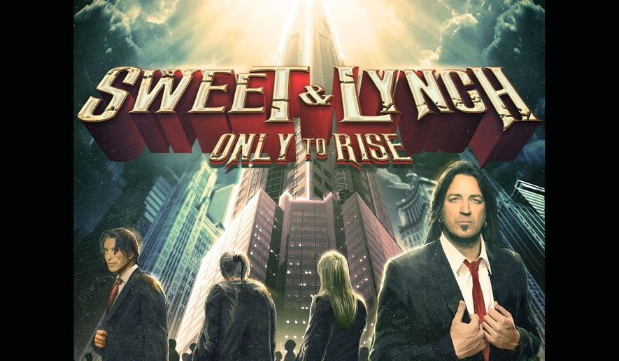 "This CD cover image released by Frontiers shows ""Only to Rise,"" by Sweet & Lynch. (AP Photo/Frontiers)"
