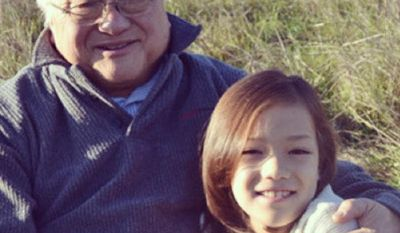 Rep. Mike Honda, California Democrat, tweeted this photo of himself with his transgender granddaughter.