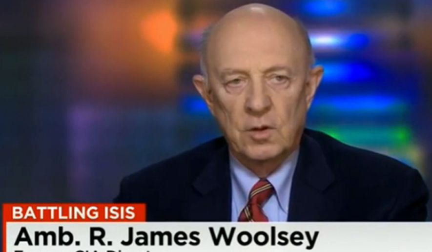 Ex-CIA Director James Woolsey. (Image: CNN screenshot) **FILE**