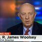 Ex-CIA Director James Woolsey. (Image: CNN screenshot) **FILE**