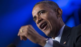 President Obama speaks in Washington.  (AP Photo/Evan Vucci, File)