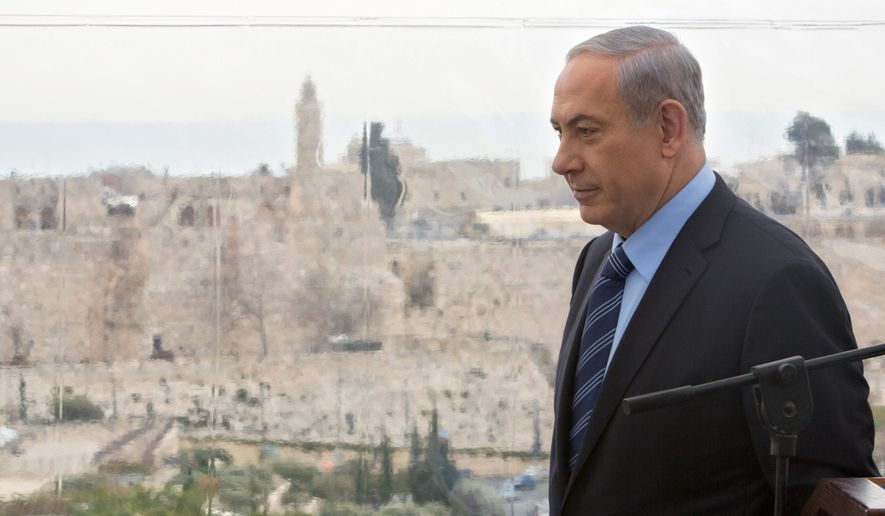 Israeli Prime Minister Benjamin Netanyahu. (Associated Press)