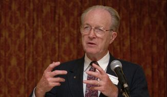 Dr. John Willke speaks at the first anti-euthanasia conference in Amsterdam in this Oct. 6, 1996, file photo. The doctor, who helped shape the modern pro-life movement, died at his home in Cincinnati Feb. 20, 2015. He was 89. The cause of death wasn't immediately known. (AP Photo/Peter Dejong)