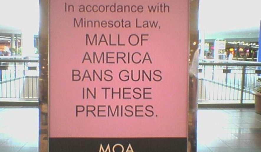 """Minnesota state Rep. Tony Cornish says the al-Shabaab threat against the Mall of America should be enough to motivate mall owners to drop their """"no guns"""" policy so citizens can protect themselves. (Facebook/Minnesota Gun Owners Political Action Committee)"""