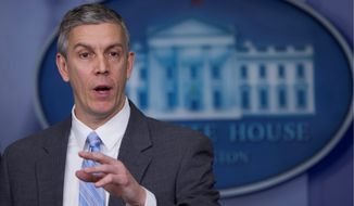 Education Secretary Arne Duncan (Associated Press) **FILE**