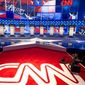 New input: In upcoming GOP presidential debates, CNN has partnered with Salem Media, the nation's largest Christian and conservative news organization. (CNN)