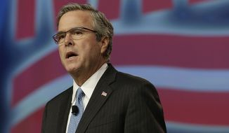 GOP observers say it will be a challenge for Jeb Bush to win over the conservatives that turn out for CPAC. (Associated Press)