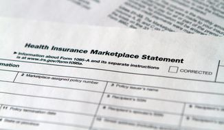 Some taxpayers were shocked at the minimum $95 penalty for not having insurance in 2014. Many say they will not pay the fine. (associated press)
