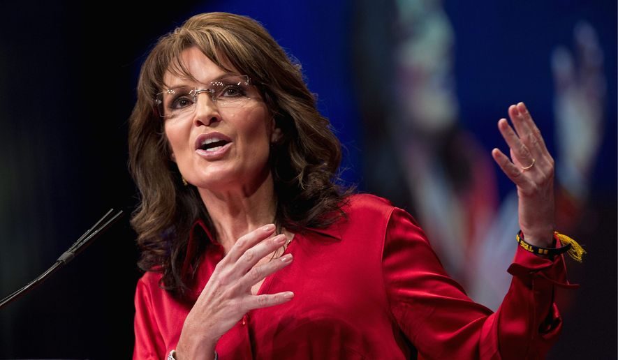 Former Alaska governor Sarah Palin will be among the speakers as the annual spectacle that is Conservative Action Political Conference kicks off with a prayer and the Pledge of Allegiance at 8 a.m. Thursday. (Associated Press)
