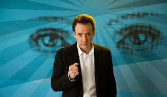 "John Cusack appears in a scene from ""Maps to the Stars."" (AP Photo/Focus World, Caitlin Cronenberg)  ** FILE **"