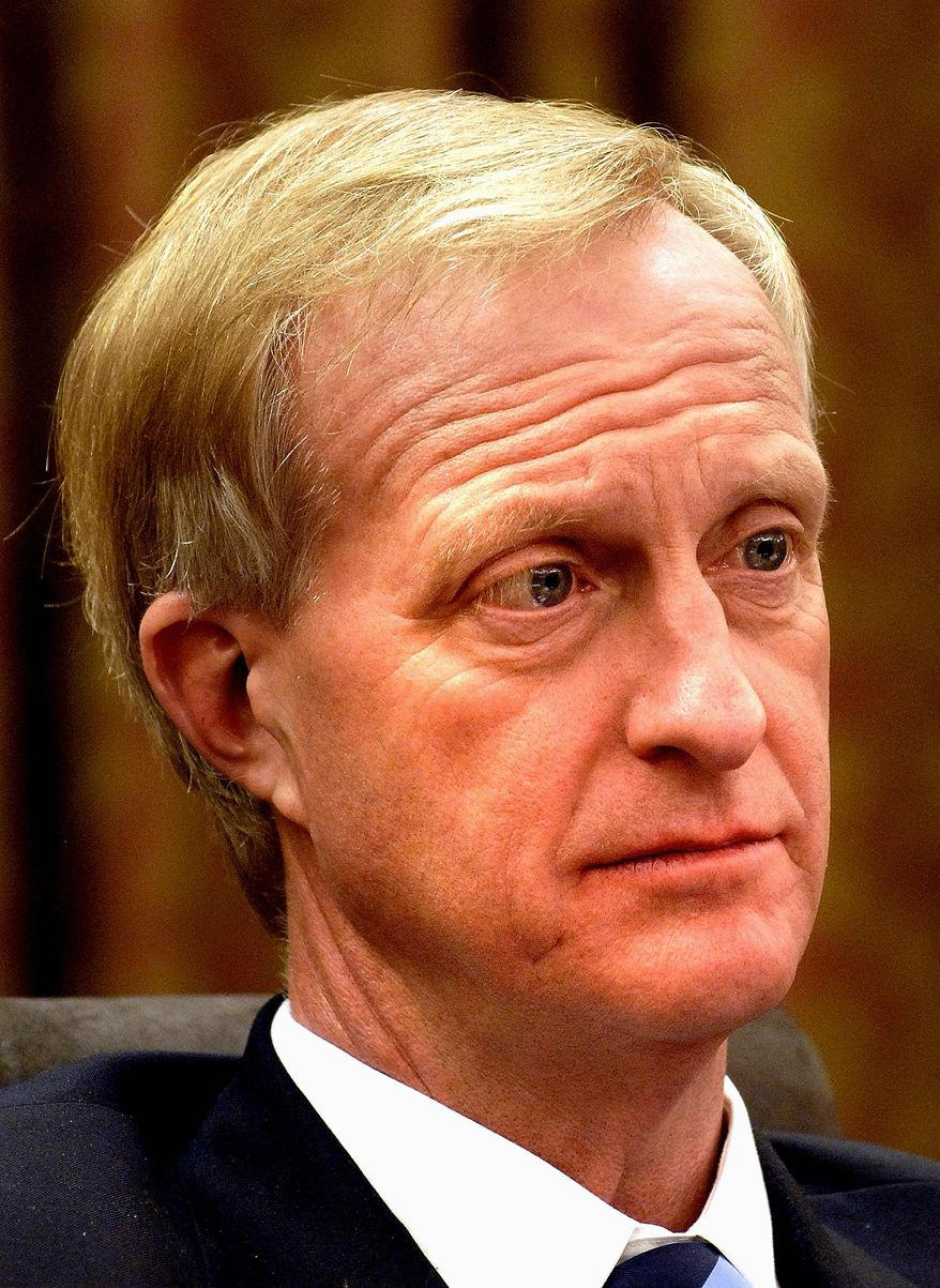 D.C. Council member Jack Evans, Ward 2 Democrat, said he hopes fares will remain static during his time on the board. (Nancy Pastor/The Washington Times)