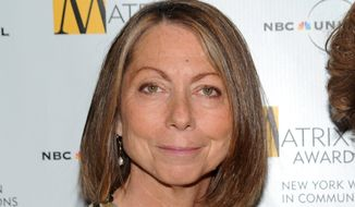 Jill Abramson attends the 2010 Matrix Awards presented by the New York Women in Communications at the Waldorf-Astoria Hotel in New York on April 19, 2010. (Associated Press) **FILE**