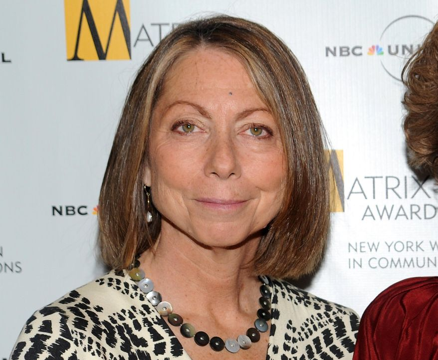Jill Abramson attends the 2010 Matrix Awards presented by the New York Women in Communications at the Waldorf-Astoria Hotel in New York on April 19, 2010. (Associated Press) ** FILE **