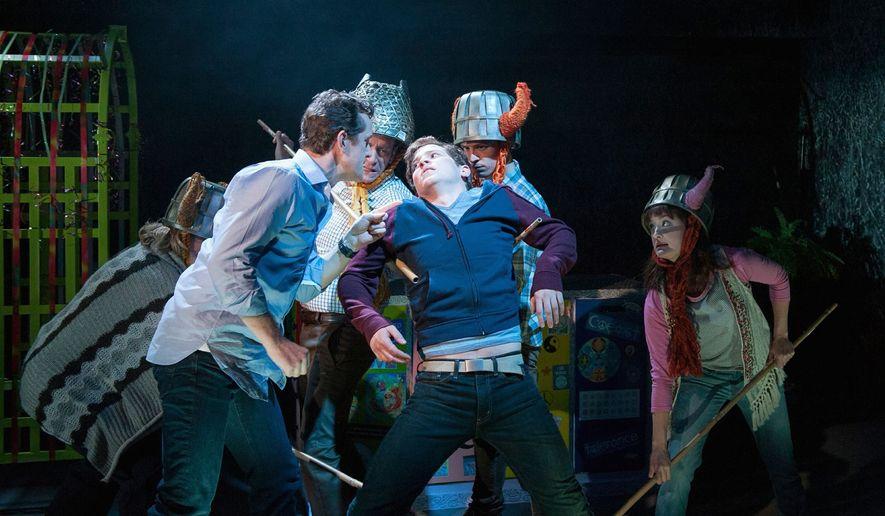 """""""Kid Victory,"""" running through March 22 at the Signature Theatre, is the latest musical from """"Cabaret"""" composer John Kander and lyricist Greg Pierce."""