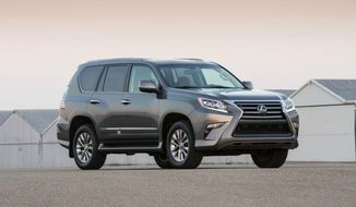 Full-time Four Wheel Drive With Full-time Luxury on the 2015 Lexus GX 460 (Lexus Media Photos)