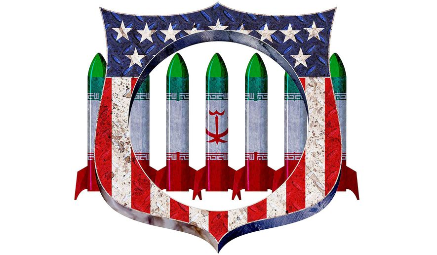 Failure to Protect Against Iranian Nukes Illustration by Greg Groesch/The Washington Times